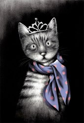 Miss Purrfect by Doug Hyde - Limited Edition on Paper sized 12x18 inches. Available from Whitewall Galleries